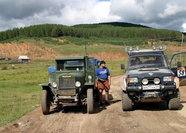 Амурские перегоны, август 2005 г.