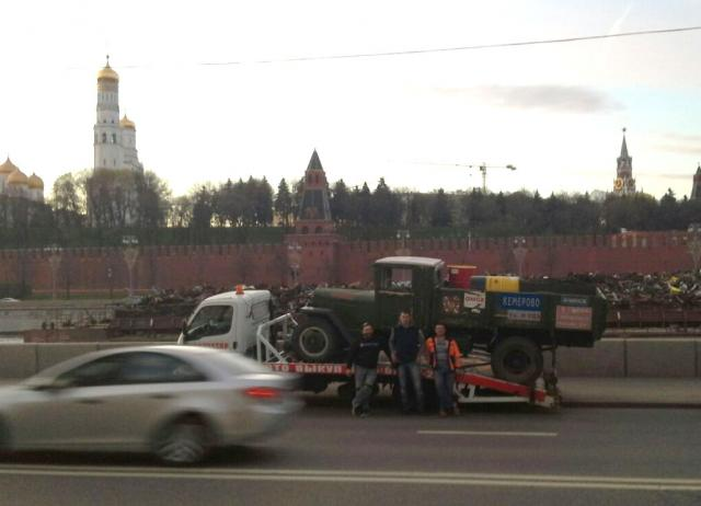 Кремль. Москва. 30 апреля. Начало пути